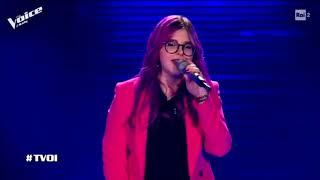 IL CIELO NELLA STANZA   (Salmo)   SOPHIA MURGIA   Blind Auditions   The Voice Of Italy 2019