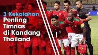 3 Kekalahan Timnas Indonesia dari Thailand di Piala AFF