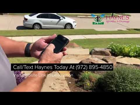 McKinney Sprinkler Repair Company Discusses WiFi Smart Phone App For Irrigation Control