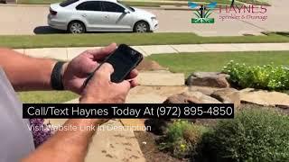 McKinney Sprinkler Repair Company Discusses WiFi Smart Phone App For Irrigation Control