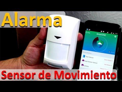 Sistemas de Seguridad Baratos Sensor de Movimiento - Alarma para Casa