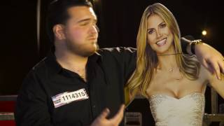 Sal Valentinetti Talks About His Big Kiss With Heidi Klum   America's Got Talent 2016 Extra
