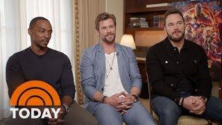 Chris Pratt, Chris Hemsworth And Anthony Mackie Talk 'Avengers: Infinity War' | TODAY