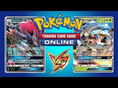 Zoroark GX / Weaville vs Golisopod GX / Garbodor – Pokemon TCG Online Gameplay