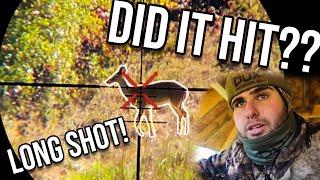 Long range shot on OPENING DAY! *Scope Cam*
