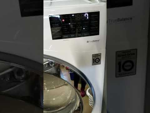 LG 27 Front Loading 4 5 Cu  Ft  Washer - White