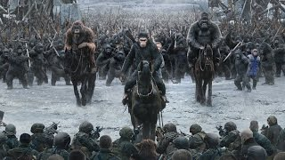 War For The Planet of the Apes Trailers