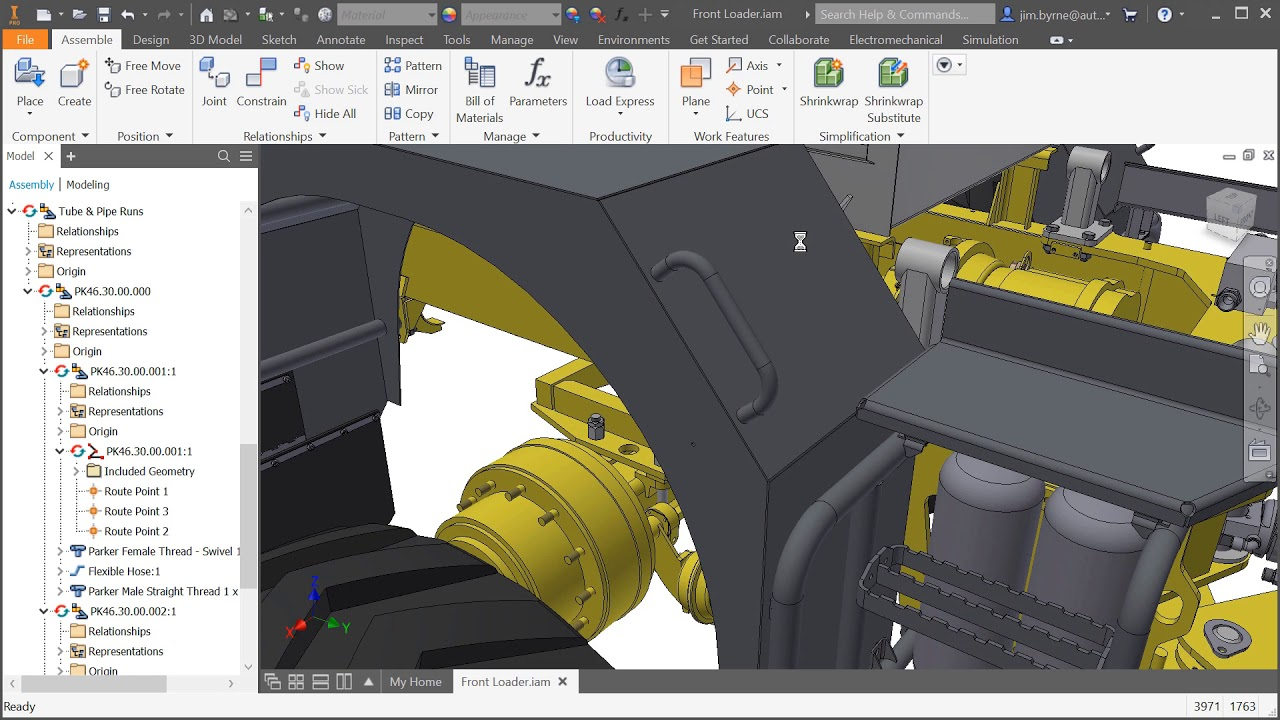Inventor 2019 What's New: Assembly Improvements