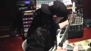"Mick Thomson Recording For Slipknot's ""All Hope Is Gone"""