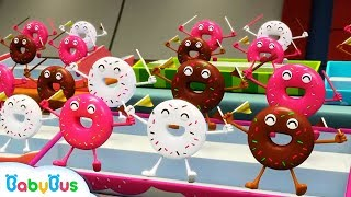 Donuts and His Friends | Learn Numbers, Color Song | Nursery Rhymes | Kids Songs | BabyBus