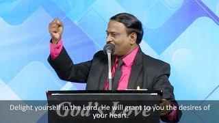 உன் வேண்டுதல்களை நிறைவேற்றுவார் | He will fulfill the desires of your heart | Part 1 | Evg.T.Stephen