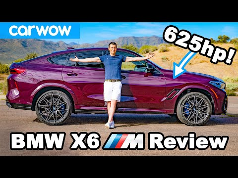 External Review Video 0hsMBHk0Eok for BMW X6 M & X6 M Competition Crossover (G06)