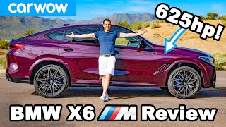 The new BMW X6M is bonkers quick! REVIEW
