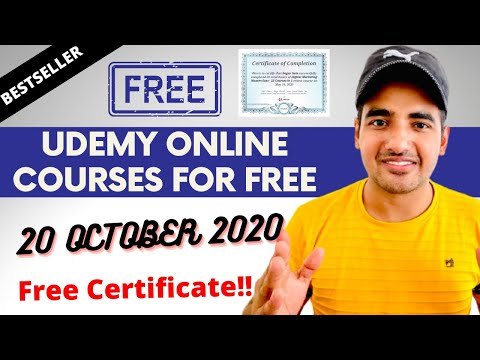 Udemy Free Courses 2020   Special Offer Guaranteed Free Online ...