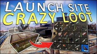 THE LAUNCH SITE is a LOOT GOLD MINE! - Rust Solo #2
