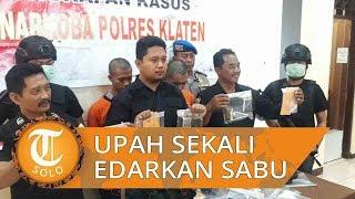 Kurir Sabu asal Klaten Ungkap Upah Edarkan Sabu Sekali Jalan, Ditangkap saat COD