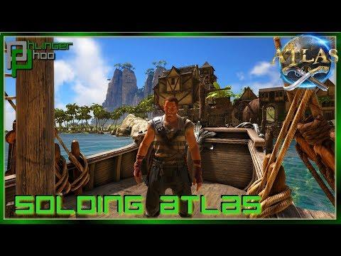 NEW SINGLE PLAYER MODE IN ATLAS! - Soloing the Atlas S1E1