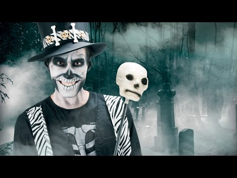 Tutorial Make-up Scheletro Halloween