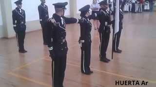 Recorrido Escolta Legion Seri Calderon 2015