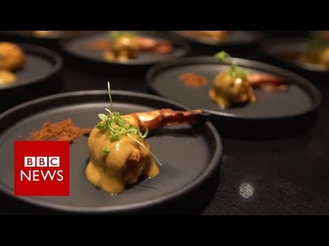 'Food porn star' Indian chef gives fine dining a twist - BBC News