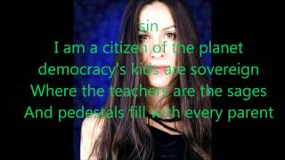 Citizen of the Planet Alanis Morissette lyrics