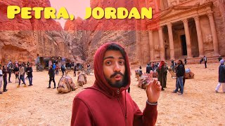LOST CITY OF PETRA, JORDAN - FULL DAY TOUR - 70$ ENTRY FEES