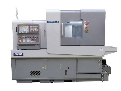 Swiss Turn Machine with B axis