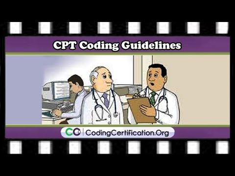 CPT Coding Guidelines - Multiple Codes in CPC Exam | ICD-10 ...
