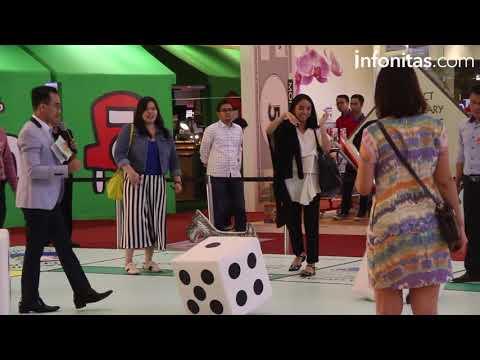 Keseruan Bermain Monopoly Terbesar se-Asia di Mall Taman Anggrek