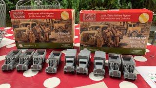 1/72 Building Medium Trucks Plastic Soldier