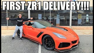 TAKING DELIVERY OF THE FIRST EVER 2019 ZR1!!! (MANUAL)