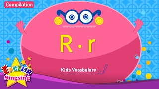 Kids từ vựng biên soạn - Words bắt đầu với R, r