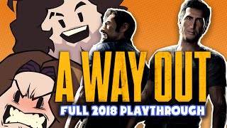A WAY OUT: THE MOVIE (2018 Game Grumps Playthrough, Streamed!)