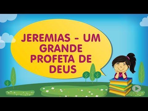 JEREMIAS - UM GRANDE PROFETA DE DEUS | Cantinho da Criança com a Tia Érika
