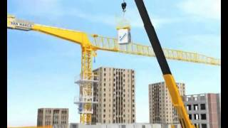 Video Lắp dựng cẩu tháp