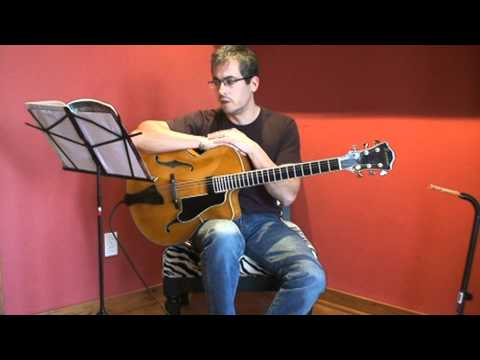 Guitar lesson: Jazz chord progressions
