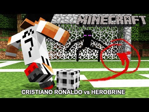 Cristiano Ronaldo no Minecraft CR7
