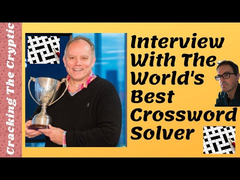 , title : 'Interview With The World's Best Crossword Solver'