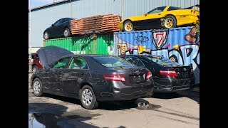 Автомобили из Америки в Кыргызстан. Авто из США. Toyota Camry .