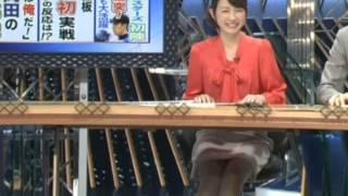 平井理央20122月~3月美脚