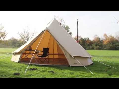 2015 - 500 Sibley Ultimate Pro Assembly & Frontier Stove Installation - Netherlands