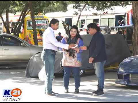 Kallu Doodh Wala Prank Krazy4 K21 News Director By Aamir Baba, 19 Jan 2020