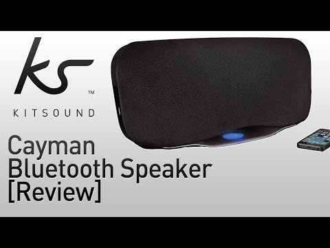 KitSound Cayman 2.1 Wireless Bluetooth Speaker System Review!