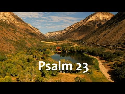 The Lord Is My Shepherd Prayer - Psalm 23