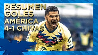 Club América 4-1 Chivas | Resumen - Todos los Goles | Jornada 12 - Liga MX | Apertura 2019