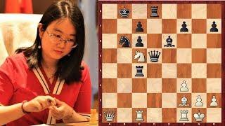 Шахматы. Китай - Россия: РУКОПАШНАЯ СХВАТКА на первой доске!