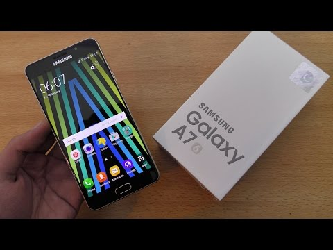 Samsung Galaxy A7 (2016) - Unboxing, Setup & First Look (4K)