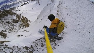 Ridiculous throttling of Once is Enough by Owen Leeper. Easy to see why this won GoPro Line of the Winter honors.