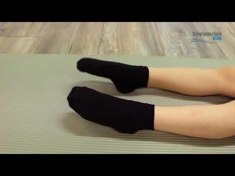 Der Ansatz auf dem Finger des Beines der kleine Finger