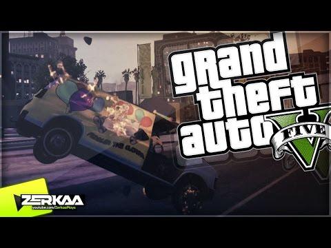 Grand Theft Auto V Walkthrough - GTA 5 Funny Moments |
